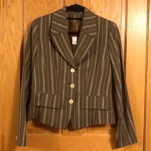 Kenzo Paris menswear style pinstripe blazer